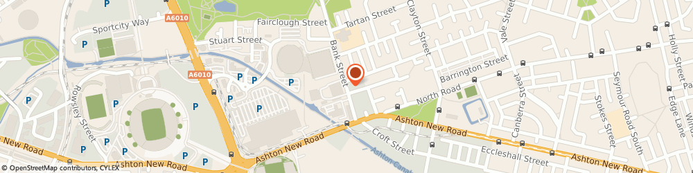 Route/map/directions to Eastland Compounding, M11 4AS Manchester, Bank Street