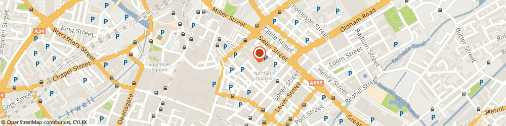 Route/map/directions to Spa Satori, M4 1HQ Manchester, 112 High Street