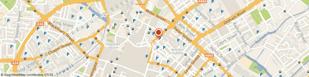 Route/map/directions to NCP Car Park Manchester Printworks, M4 4AA Manchester, 6 Shudehill