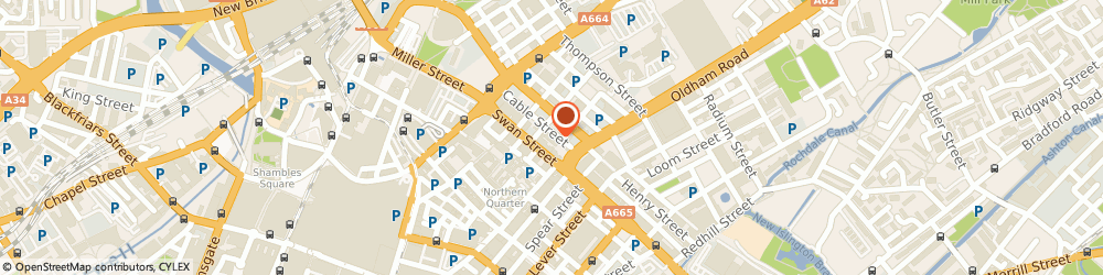 Route/map/directions to VIDEO INK LTD, M4 5JW Manchester, 20 Swan Street