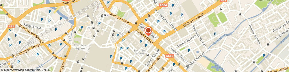 Route/map/directions to Manchester Massage, M4 5JQ Manchester, 28a Swan street