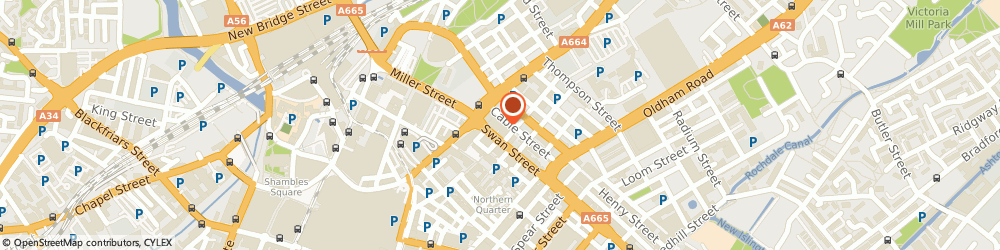 Route/map/directions to Pole Star Digital, M4 5AD Manchester, Pole Star Digital, Express Building C/O Huckletree