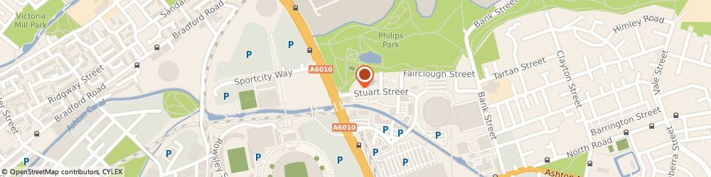Route/map/directions to The British Cycling Federation, M11 4DQ Manchester, Stuart St