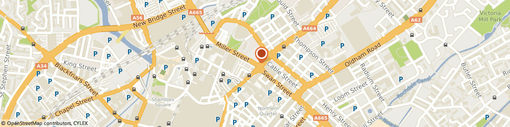 Route/map/directions to Angels 56, M4 5JU Manchester, 56 Swan St