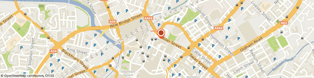 Route/map/directions to The Freedom Travel Group, M60 4ES Manchester, NEW CENTURY HOUSE