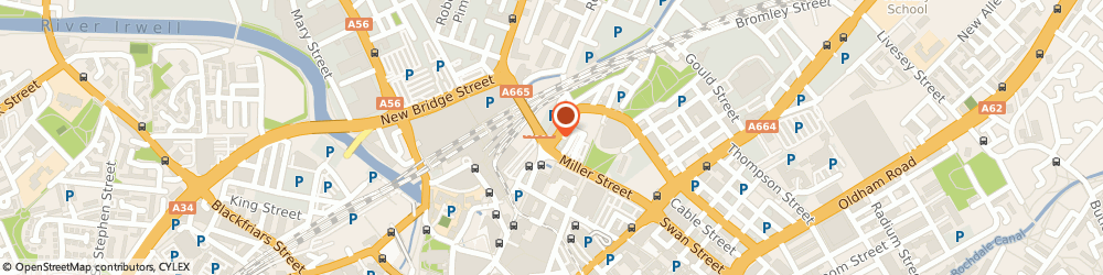 Route/map/directions to Manchester Messenger Co, M4 4DX Manchester, 109 Corporation St