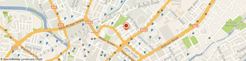 Route/map/directions to Piccadilly Management, M4 4DE Manchester, 23 New Mount Street