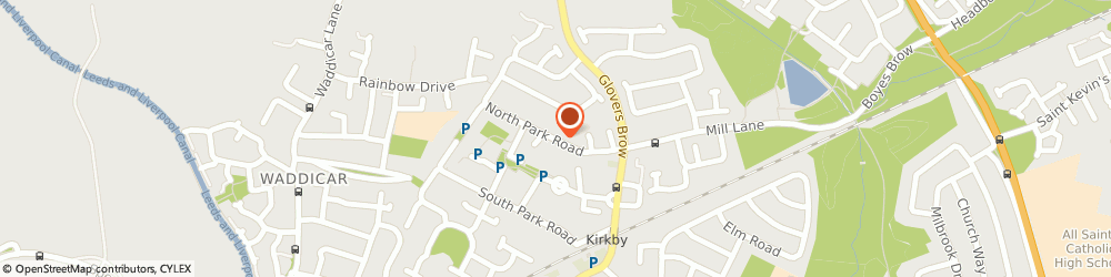 Route/map/directions to Park Court, Liverpool, L32 2AR Knowsley, North Park Road