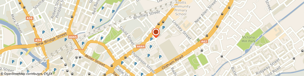 Route/map/directions to Crown Brolac Decorator Centre, M4 4JQ Manchester, Unit 2 Trading Estate Sudell Street