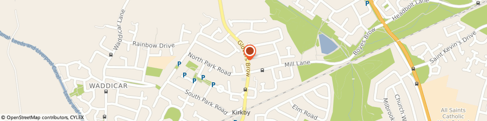 Route/map/directions to Anchor Trust, L32 2DD Knowsley, 2 MILLVIEW, NORTH PARK ROAD