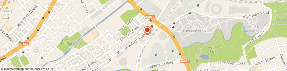 Route/map/directions to F Dunn and Sons of Manchester, M40 7BT Manchester, Bradford Road
