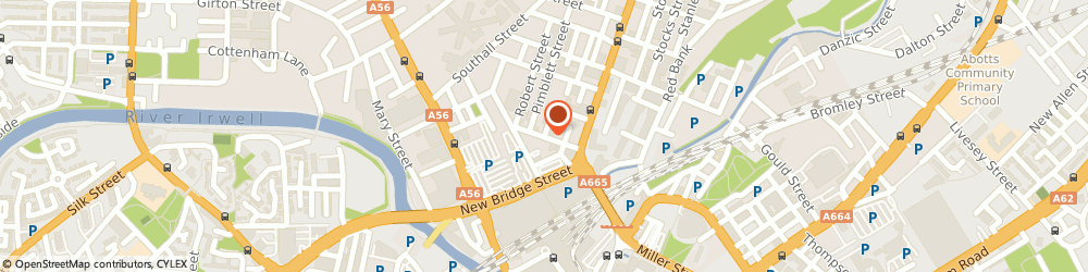 Route/map/directions to That's Thai, M3 1EU Manchester, 27a Park St