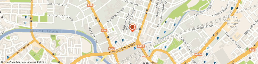 Route/map/directions to INN FASHION LTD, M3 1FS Manchester, 3 Cowburn St