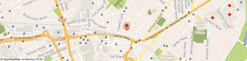 Route/map/directions to Alcoholics Anonymous, OL6 9NQ Ashton-Under-Lyne, Union St
