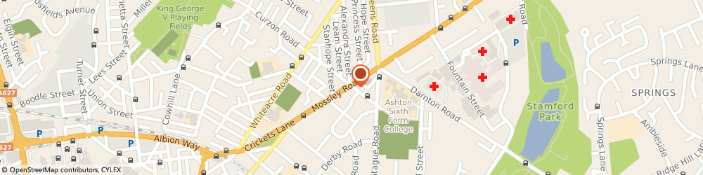 Route/map/directions to Costcutter, OL6 6NE Ashton-Under-Lyne, 187 Mossley Road