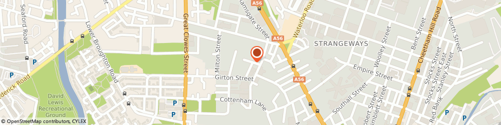 Route/map/directions to Clearance Trade Centre Ltd, M71SS Salford, 2 Caroline Street