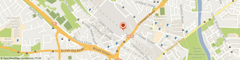 Route/map/directions to Ecksteins Carpets, M6 6LL Salford, 6, Albion Trading Estate, Mill St