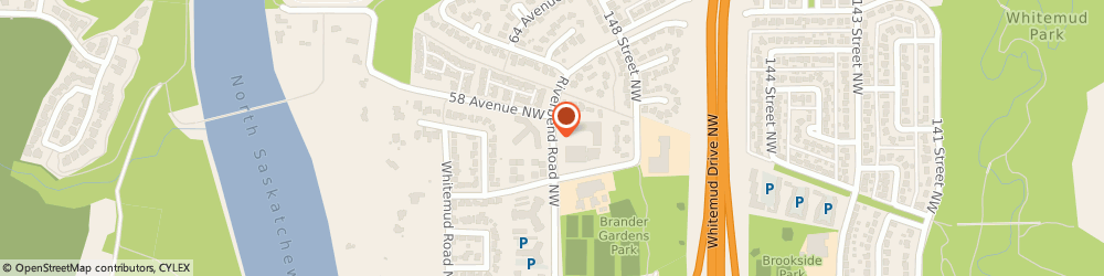Route/map/directions to Riverbend Dental Clinic, T6H 5K4 Edmonton, 200-5651 Riverbend Rd NW