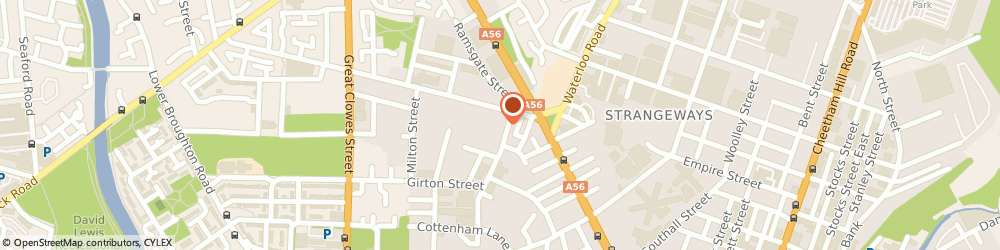 Route/map/directions to M.r.s Fashions, M8 9SN Manchester, 8 Rugby St