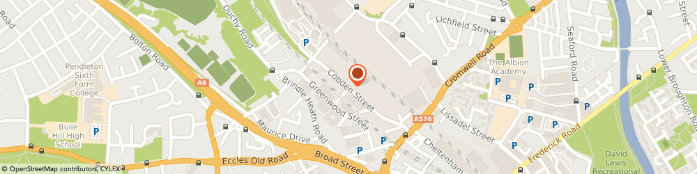 Route/map/directions to LASLO'S GARAGE LIMITED, M6 6WG Salford, Unit 5, Kingston Mill Cobden Street