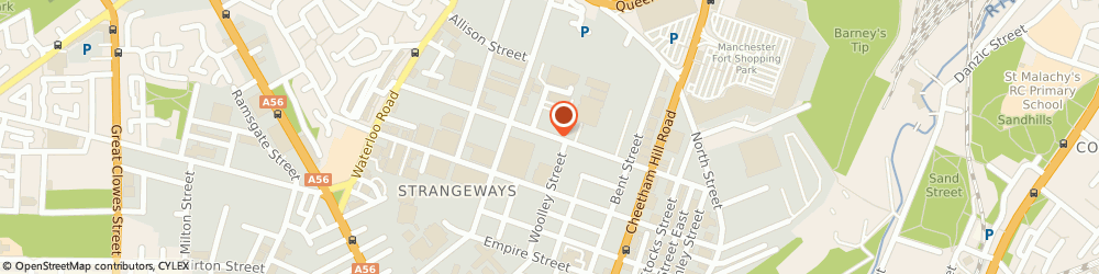 Route/map/directions to First Impressions, M8 8LZ Manchester, 33 Broughton Street