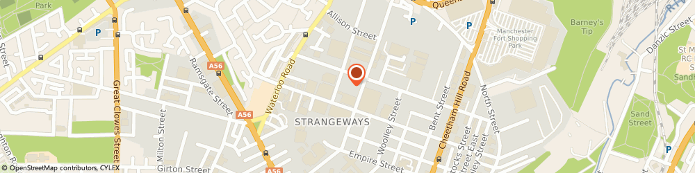 Route/map/directions to STARTEX (MANCHESTER) LTD, M8 8HF Manchester, Unit 13/Commerce House, 54 Derby Street