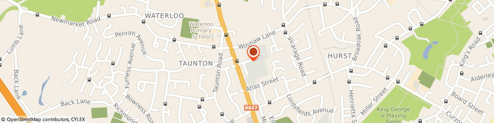 Route/map/directions to Grosvenor Auto Electrical & Diesel Specialists, OL7 9EA Ashton-Under-Lyne, 1 Langham Street
