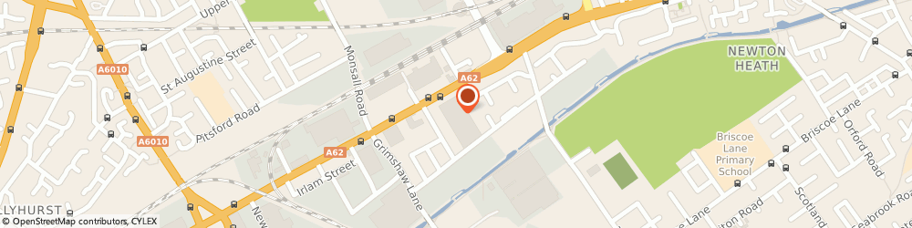 Route/map/directions to Illuma Lighting Limited, M40 2BS Manchester, SIDNEY HOUSE, 900 OLDHAM ROAD
