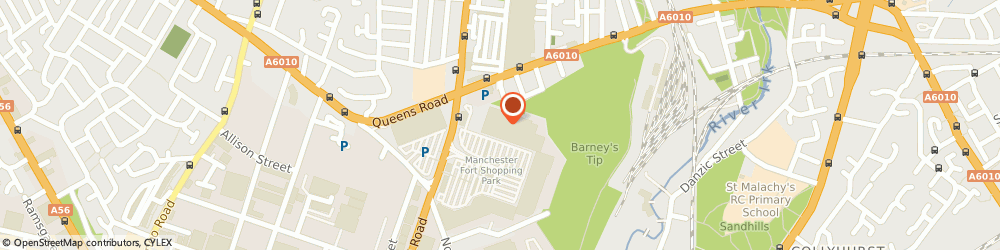 Route/map/directions to B&Q Cheetham Hill, M8 8EP Cheetham Hill, Unit 1, Manchester Fort Shopping Park