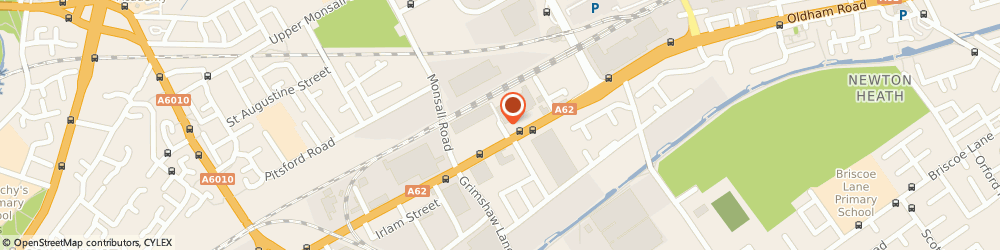 Route/map/directions to Unibox, M40 5AX Manchester, HOLT STREET