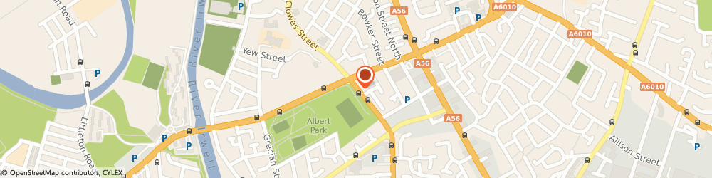 Route/map/directions to Albert Park Inn, M7 9ZS Salford, 218 GREAT CLOWES STREET