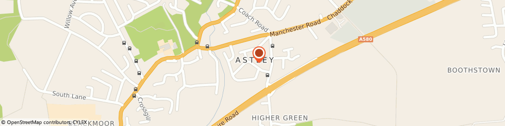 Route/map/directions to Brian R Widdowson & Co, M29 7PH Astley, 9 Manor Road