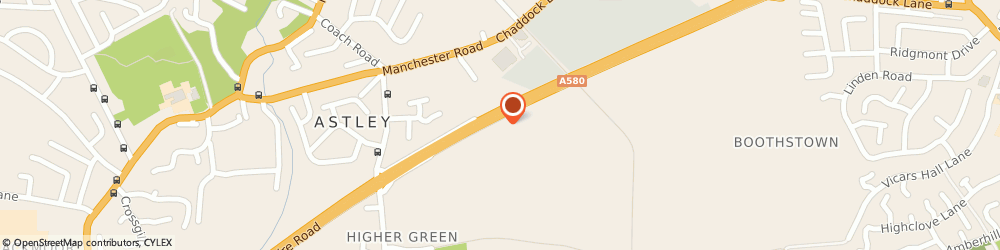 Route/map/directions to BP, M29 7HX Manchester, East Lancashire Road