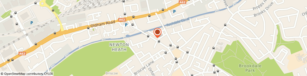 Route/map/directions to Lewis Bet Bookmakers, M40 2JN Manchester, 49 Old Church Street