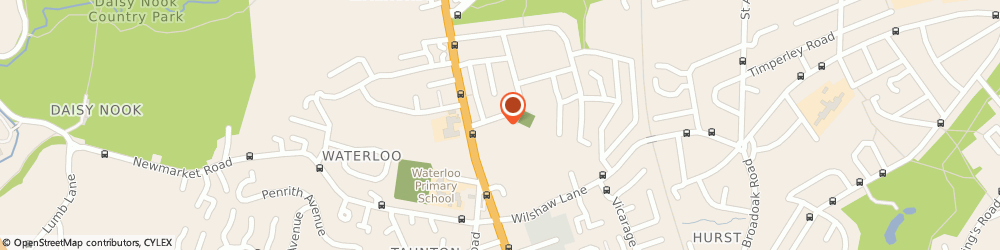 Route/map/directions to Alcoholics Anonymous, OL7 9QA Ashton-Under-Lyne, Waterloo Park Centre, Store Street