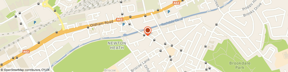 Route/map/directions to Lloyds Bank, M40 2JF Newton Heath, 64 Old Church Street