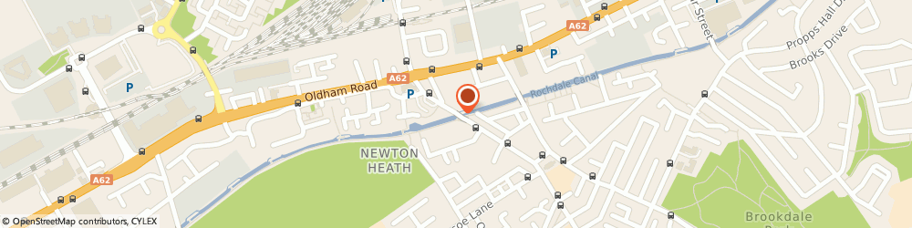 Route/map/directions to Newton Heath Working Mens Club, M40 2JN Manchester, 67, OLD CHURCH STREET