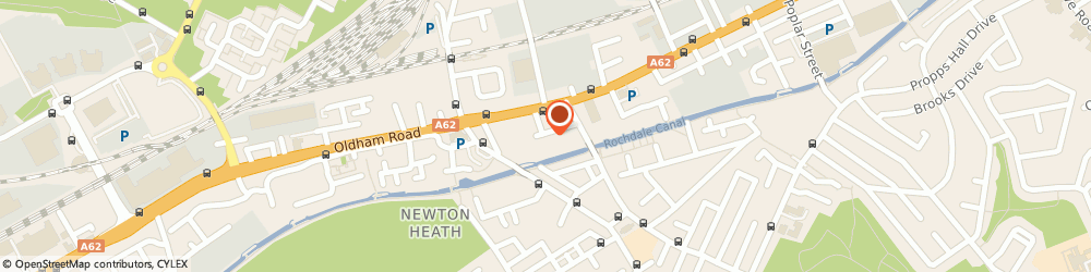 Route/map/directions to Asbestos Assessment & Control, M40 1HA Manchester, NEWTON SILK MILL, HOLYOAK STREET