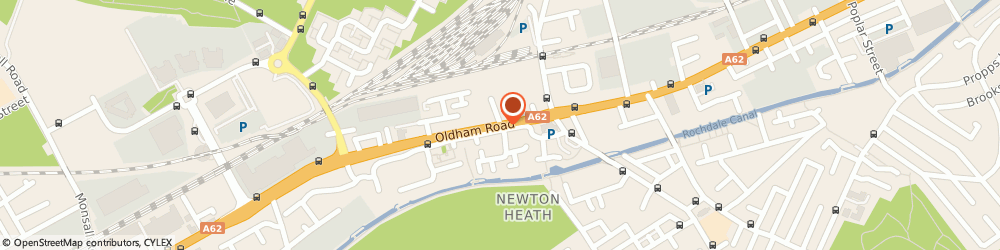 Route/map/directions to CITY BEAUTY & SPA LTD, M4 5EE Manchester, 64 Oldham Road