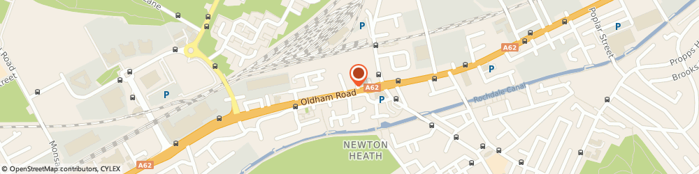 Route/map/directions to Opsec Solutions, M40 2NW Manchester, 1035 Oldham Road