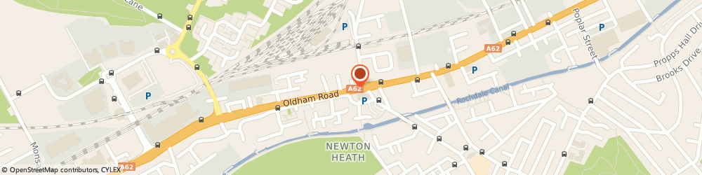 Route/map/directions to NatWest - MANCHESTER ATM, M40 2EH Manchester, 1051 Oldham Road