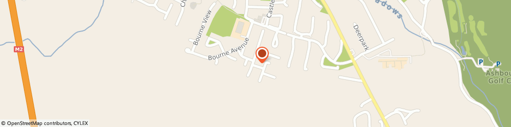 Route/map/directions to ASHBOURNE GLASS SERVICES, A84 Ashbourne, 16, Broadmeadow Road