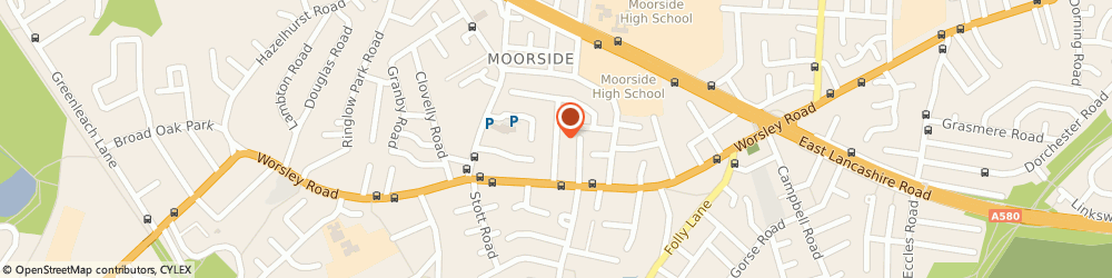 Route/map/directions to Lomaxs Gas Services, M27 0AX Manchester, 20 Ashley Drive