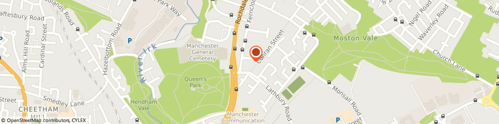 Route/map/directions to Costcutter, M9 5RD Manchester, 4-6 Tavistock Square