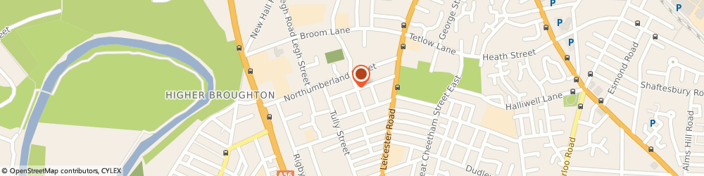 Route/map/directions to The Jewish Book Centre, M7 4DB Salford, 25 ASHBOURNE GROVE