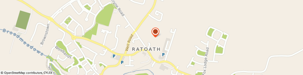 Route/map/directions to Royal county Products,  Ratoath, ROCHES WAREHOUSE GLASCARN