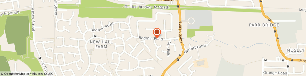 Route/map/directions to Dp Electrical Services, M29 7EZ Manchester, 24 Bodmin Rd