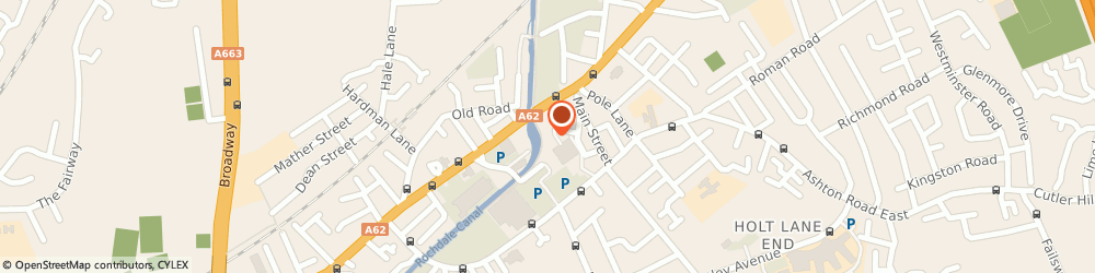 Route/map/directions to Millgate Bathrooms & Kitchens, M35 9QY Manchester, 10 Ben Brierley Wharf