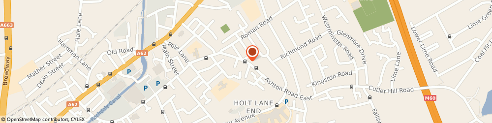 Route/map/directions to Hollyhocks, M35 9PR Manchester, 108 Ashton Road East