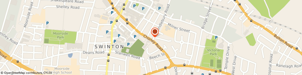 Route/map/directions to Mary Monson Solicitors, M27 4AA Manchester, 87 Chorley Rd